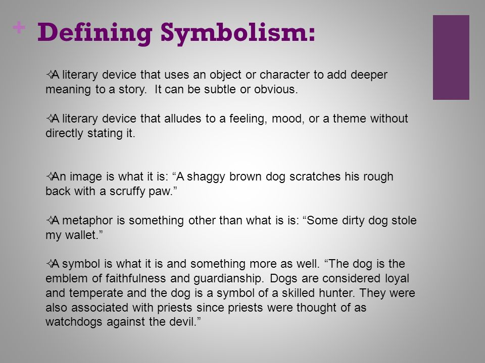 Symbol Of Literature Symbolism In Literature Ppt Video Online