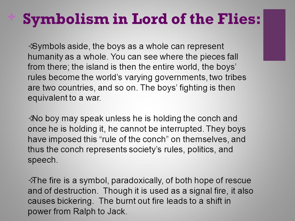 symbolism in literature ppt video online  symbolism in lord of the flies