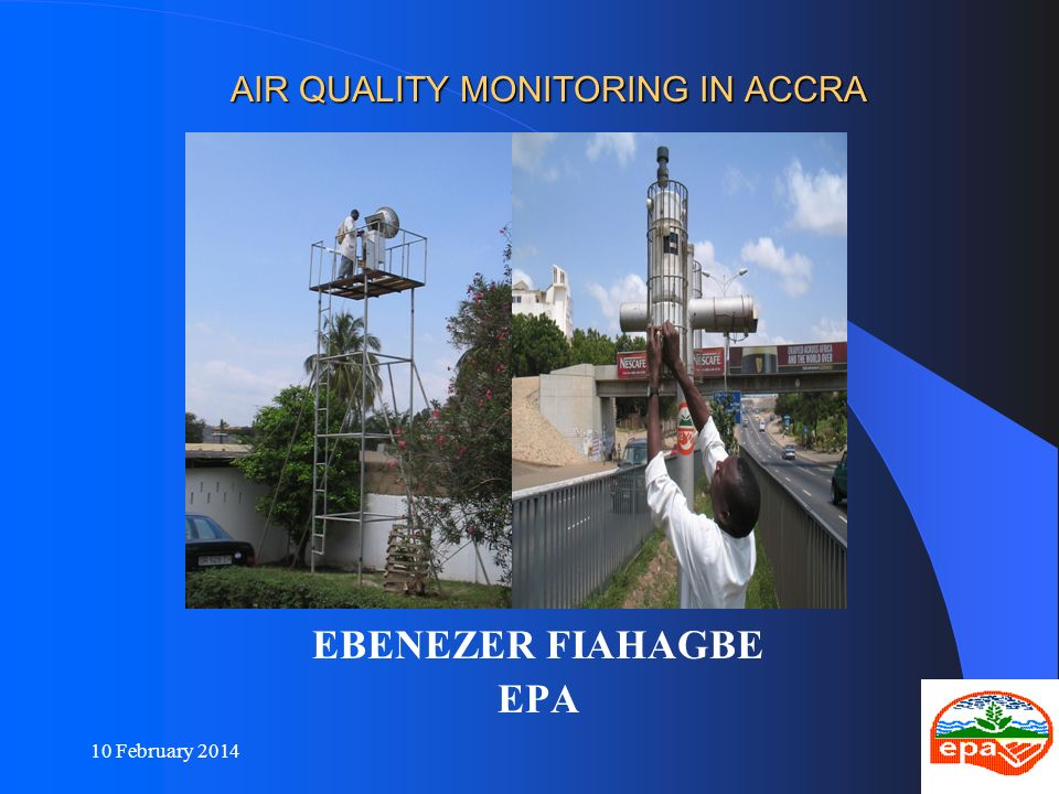 AIR QUALITY MONITORING IN ACCRA