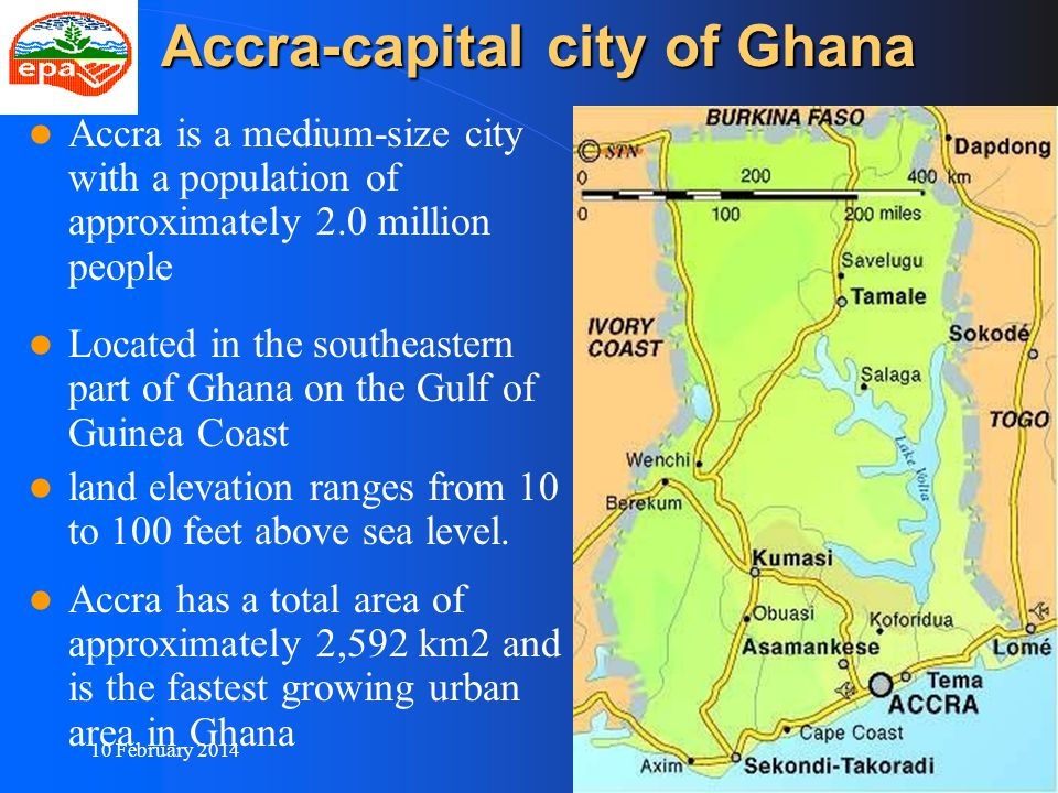 Accra-capital city of Ghana