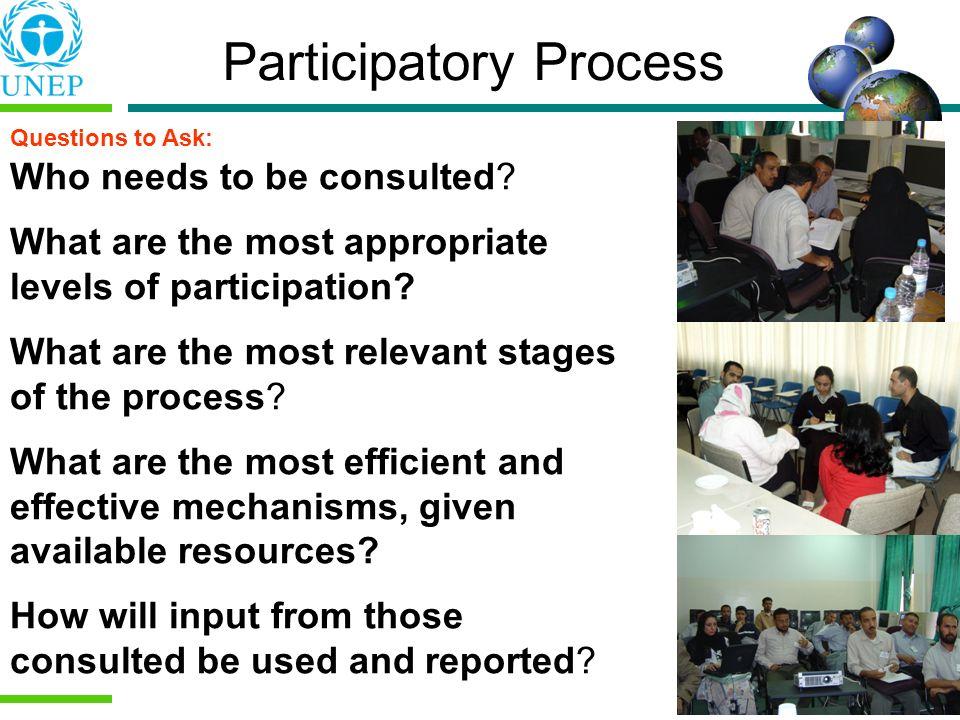 Participatory Process