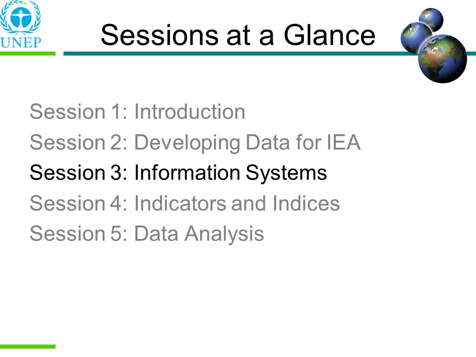 Sessions at a Glance Session 1: Introduction