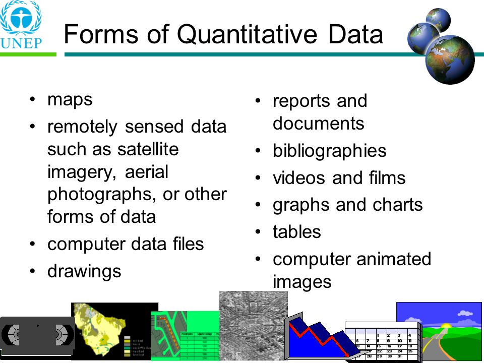 Forms of Quantitative Data