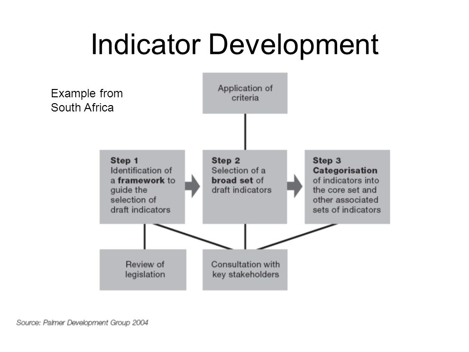 Indicator Development