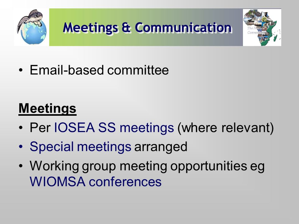 Meetings & Communication