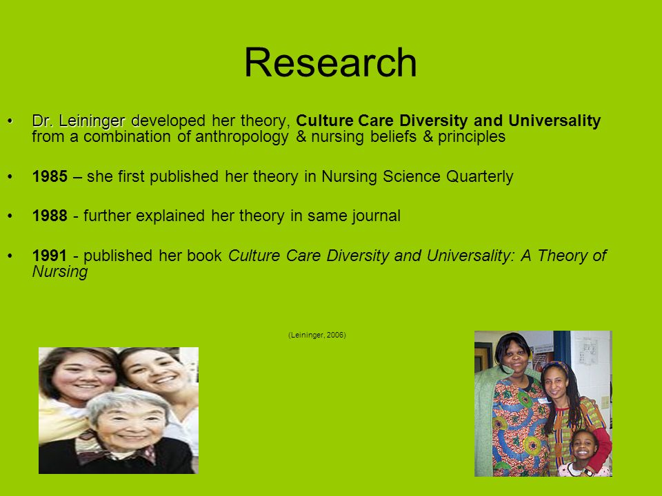 nursing science quarterly first published Continuous development of nursing as a profession and science  quarterly  nursing theories and the practice of nursing  of nursing  this is what  presented the first published theoretical development in nursing in the.