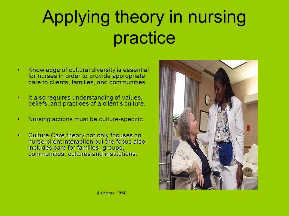 culture in nursing Nurse leaders are at the forefront of creating positive workplace cultures where  nurses can thrive there are many explanations for why nurses.