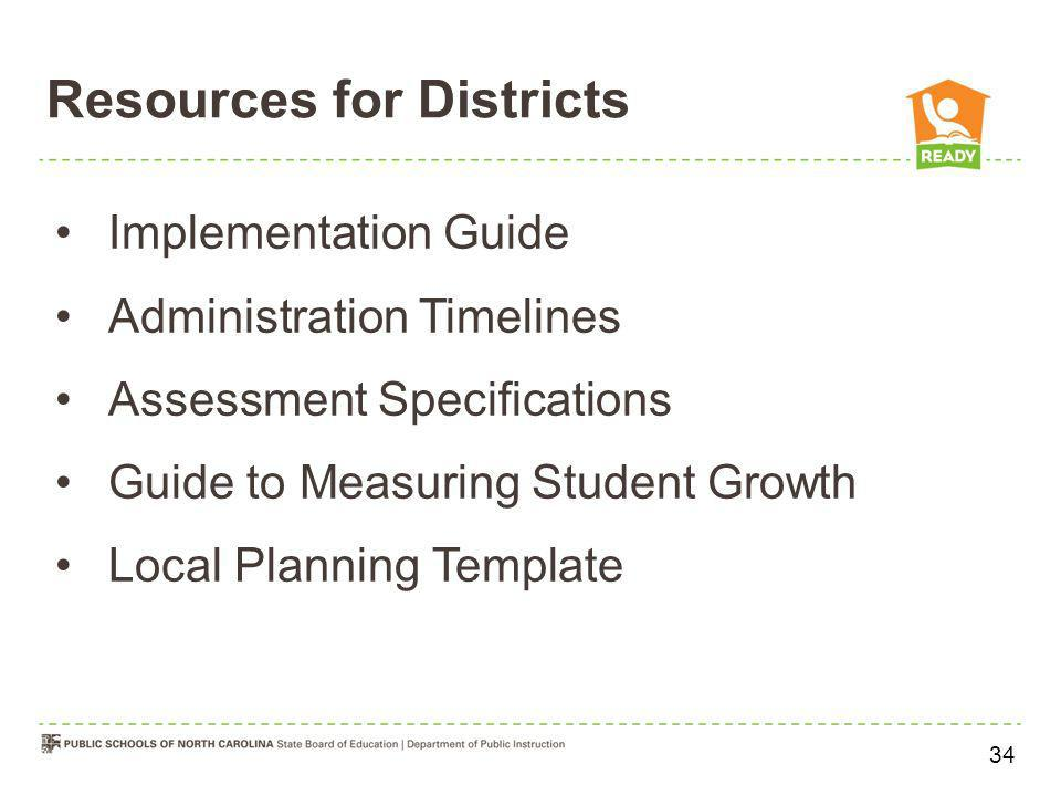 Resources for Districts