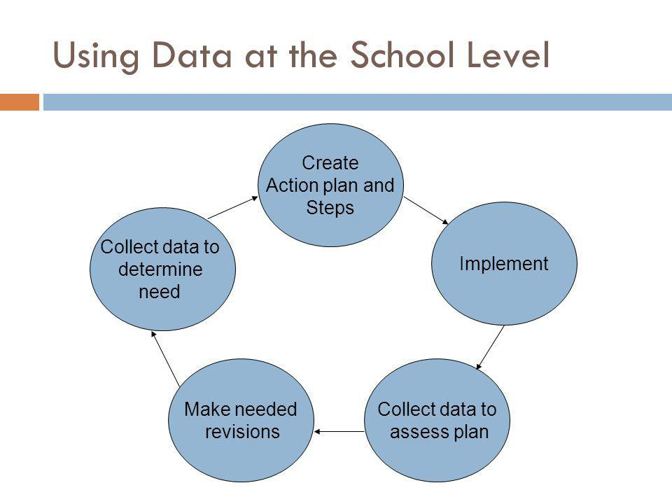 Using Data at the School Level