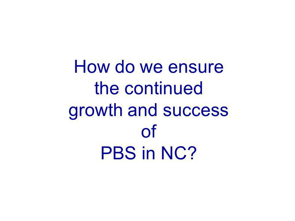 How do we ensure the continued growth and success of PBS in NC