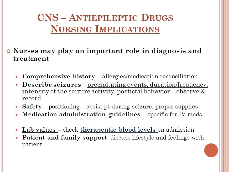 Cns Antiepileptic Drugs Ppt Video Online Download