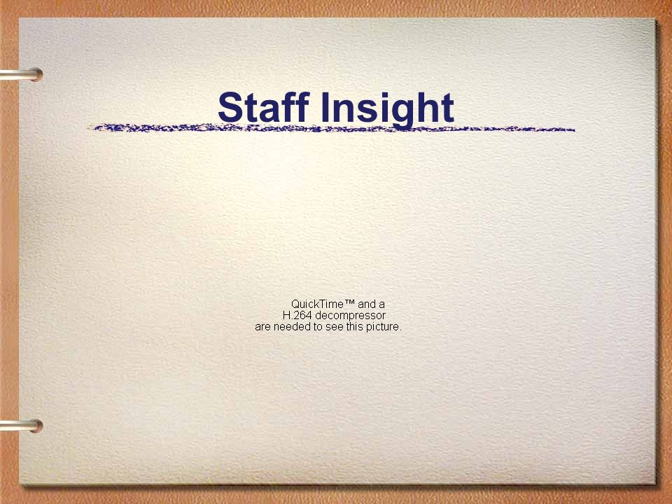 Staff Insight