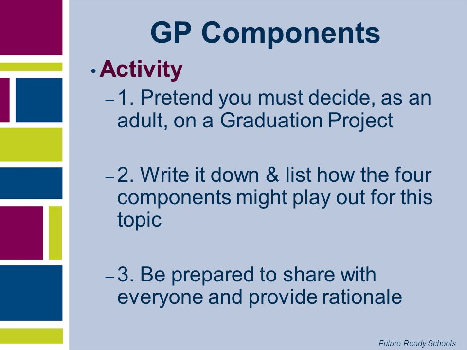 GP Components Activity