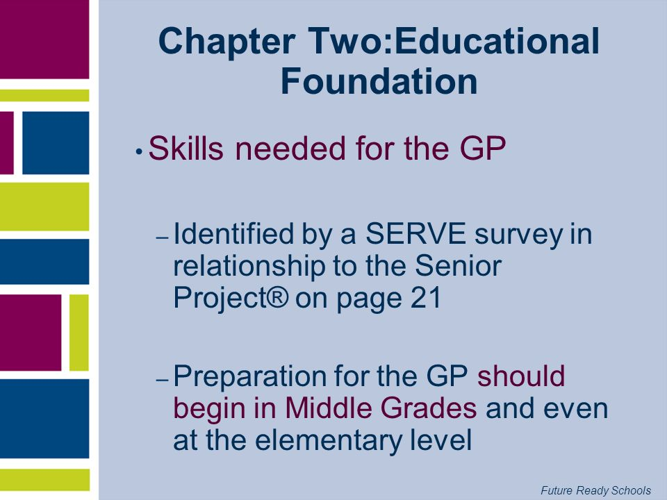 Chapter Two:Educational Foundation