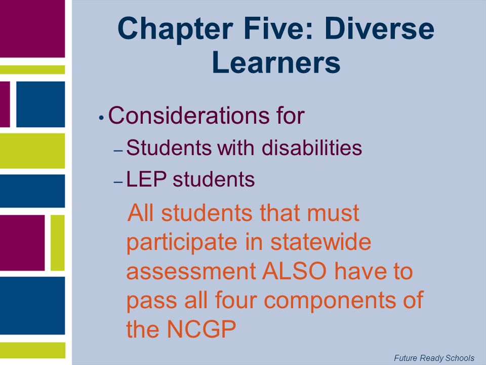 Chapter Five: Diverse Learners