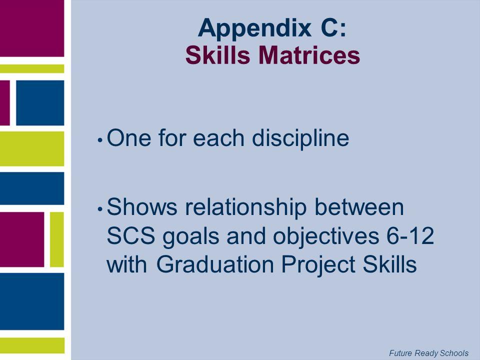 Appendix C: Skills Matrices