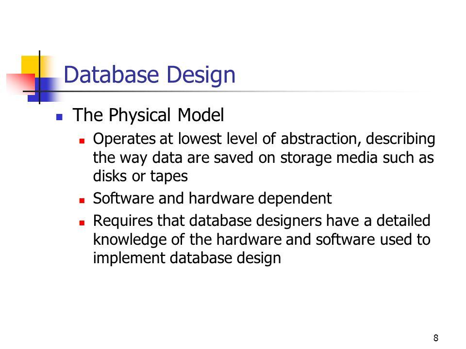 8 database - Database Designer Software