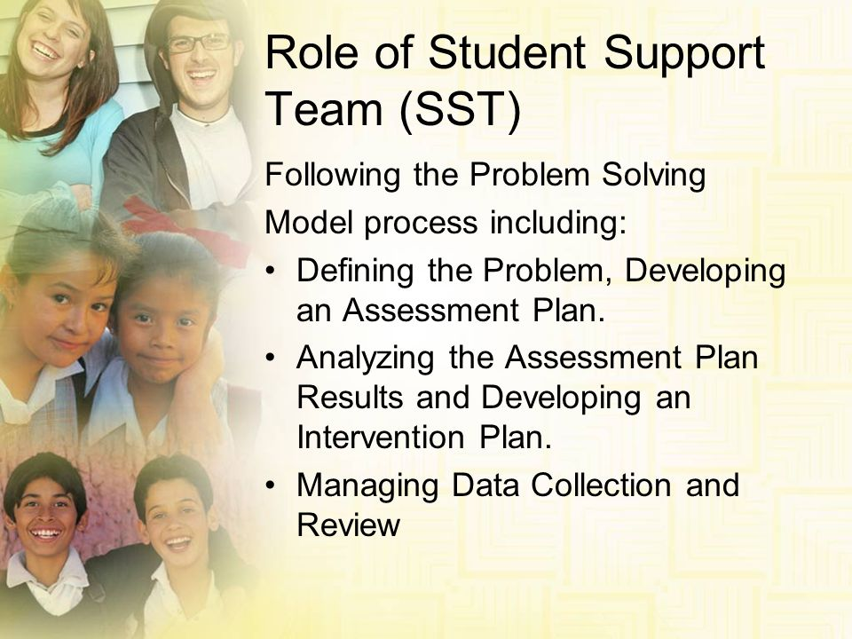 Role of Student Support Team (SST)