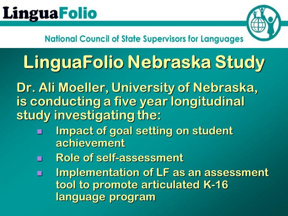 LinguaFolio Nebraska Study