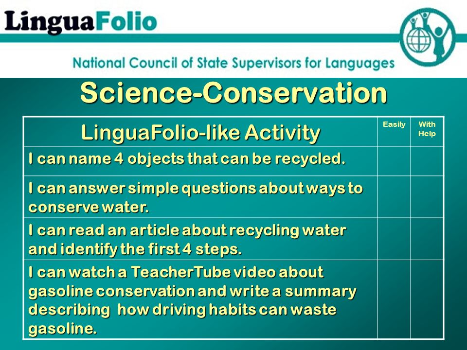 Science-Conservation