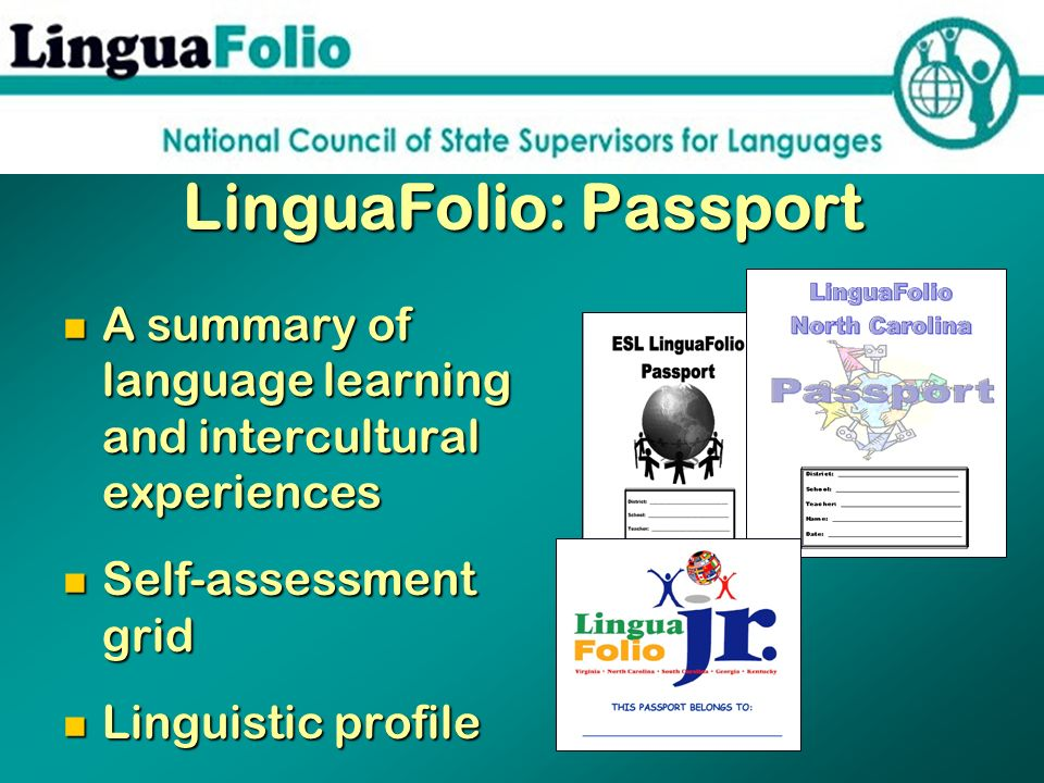 LinguaFolio: Passport