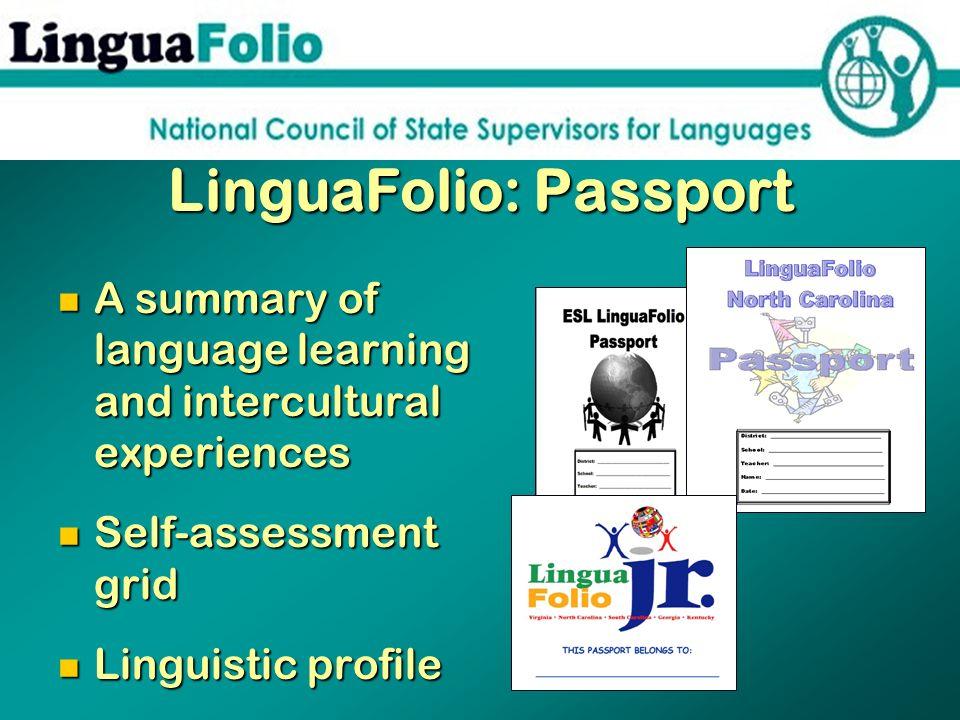 LinguaFolio: Passport