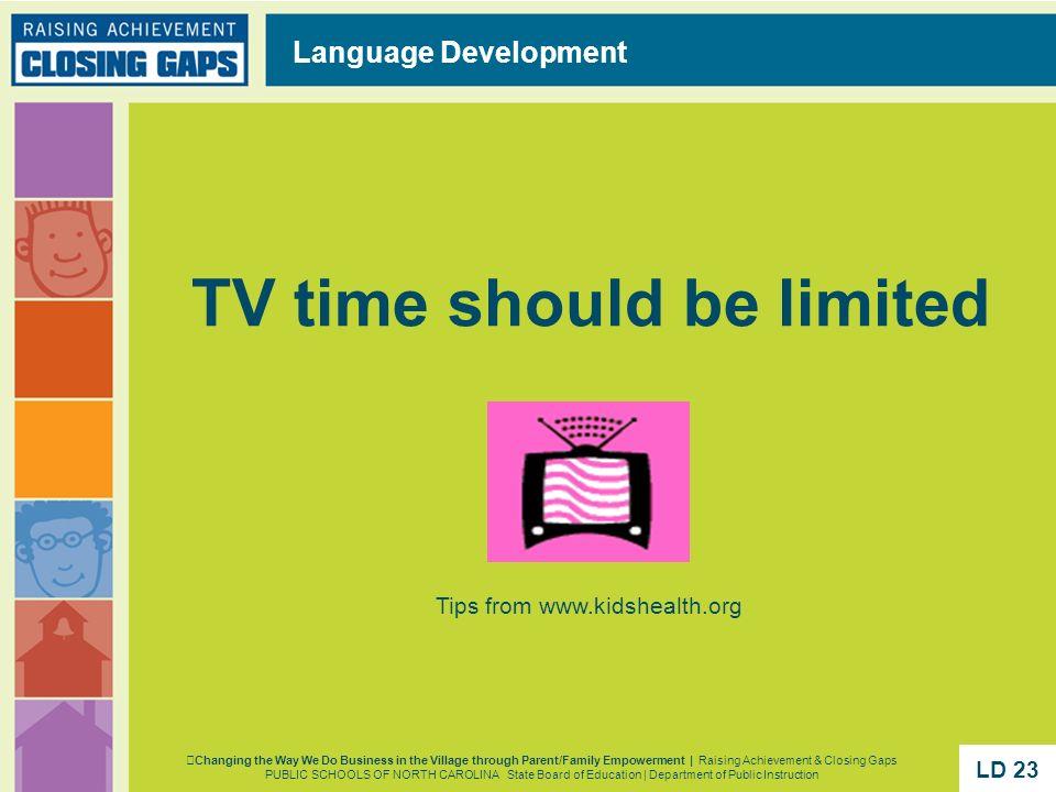 Tips from www.kidshealth.org