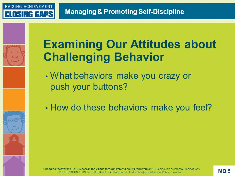 Examining Our Attitudes about Challenging Behavior