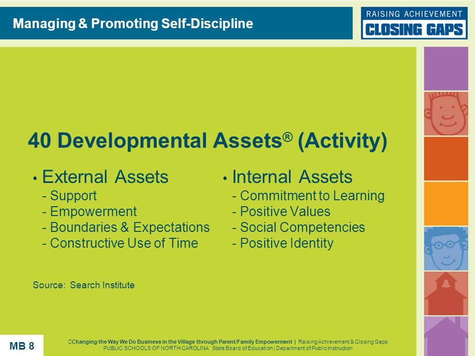 40 Developmental Assets® (Activity)