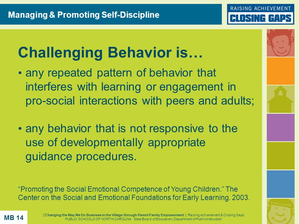 Challenging Behavior is…