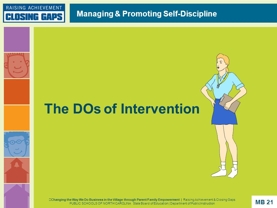 The DOs of Intervention