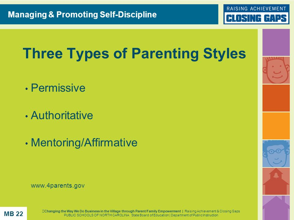 Three Types of Parenting Styles