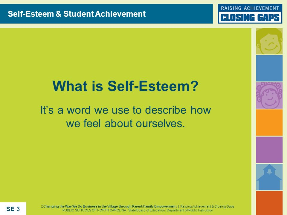 Self-Esteem & Student Achievement