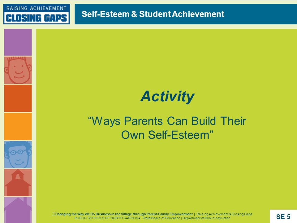 Activity Ways Parents Can Build Their Own Self-Esteem