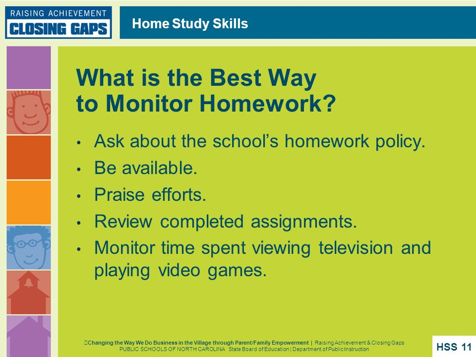 What is the Best Way to Monitor Homework