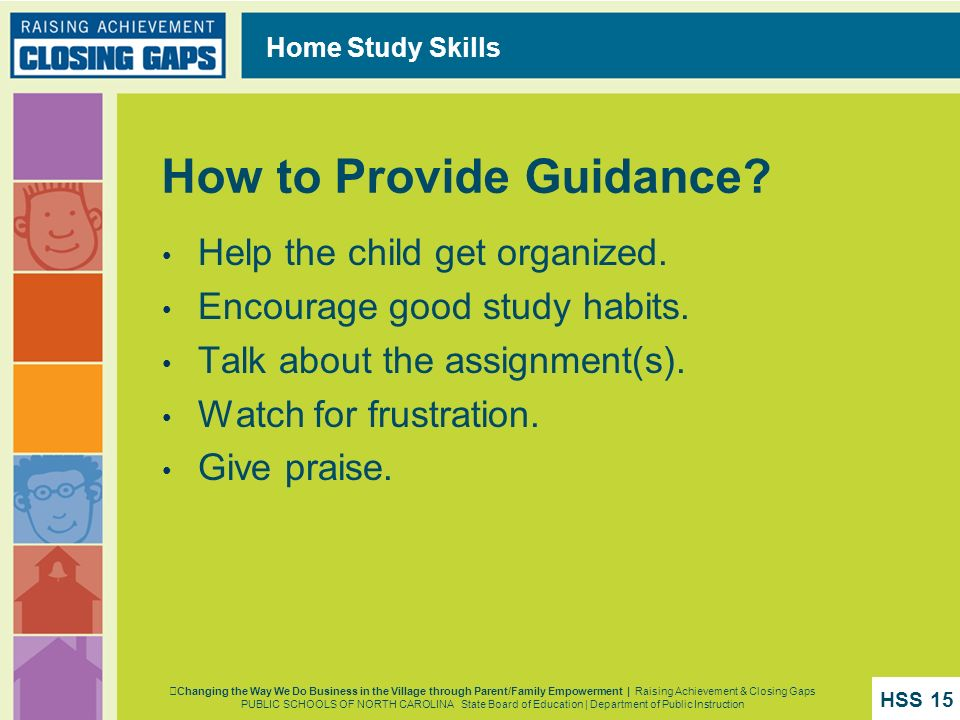 How to Provide Guidance
