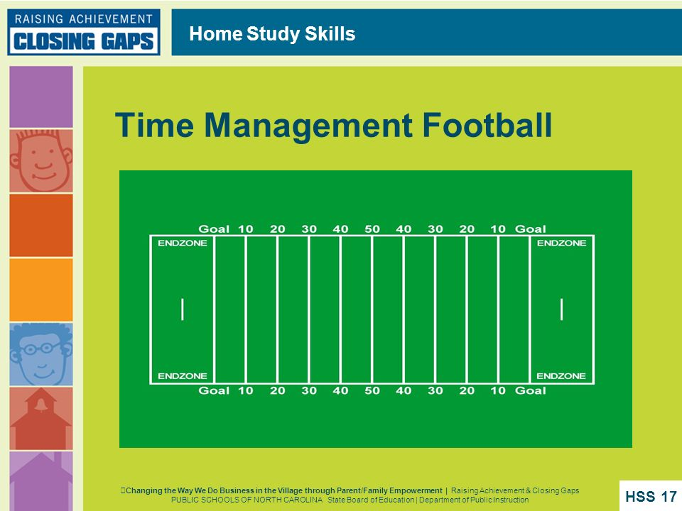 Time Management Football