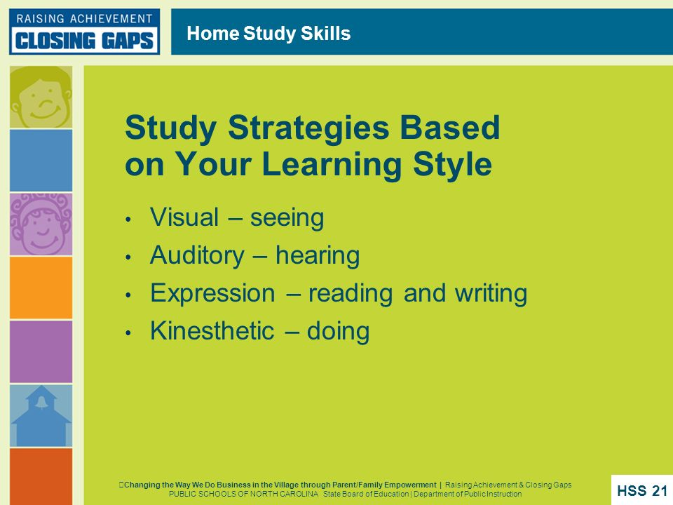 Study Strategies Based on Your Learning Style