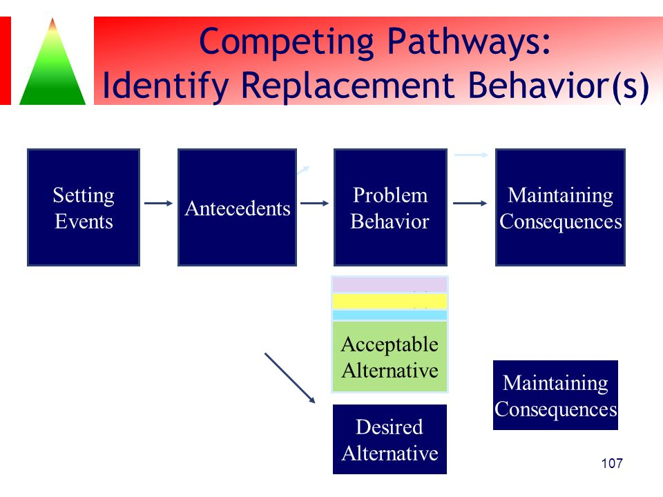 Competing Pathways: Identify Replacement Behavior(s)