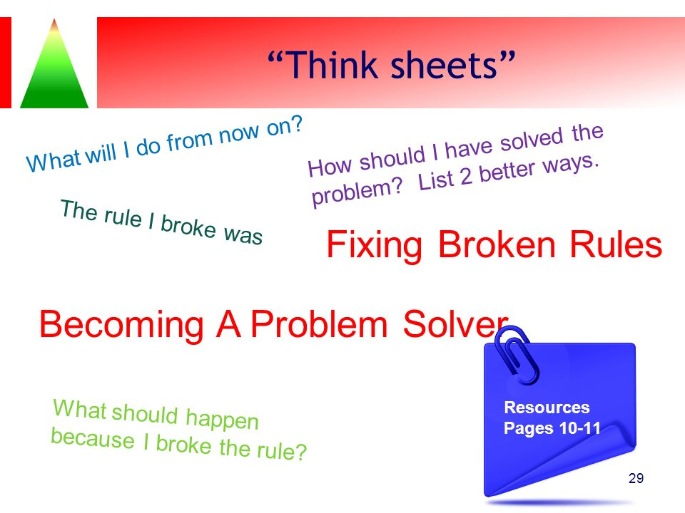 Becoming A Problem Solver