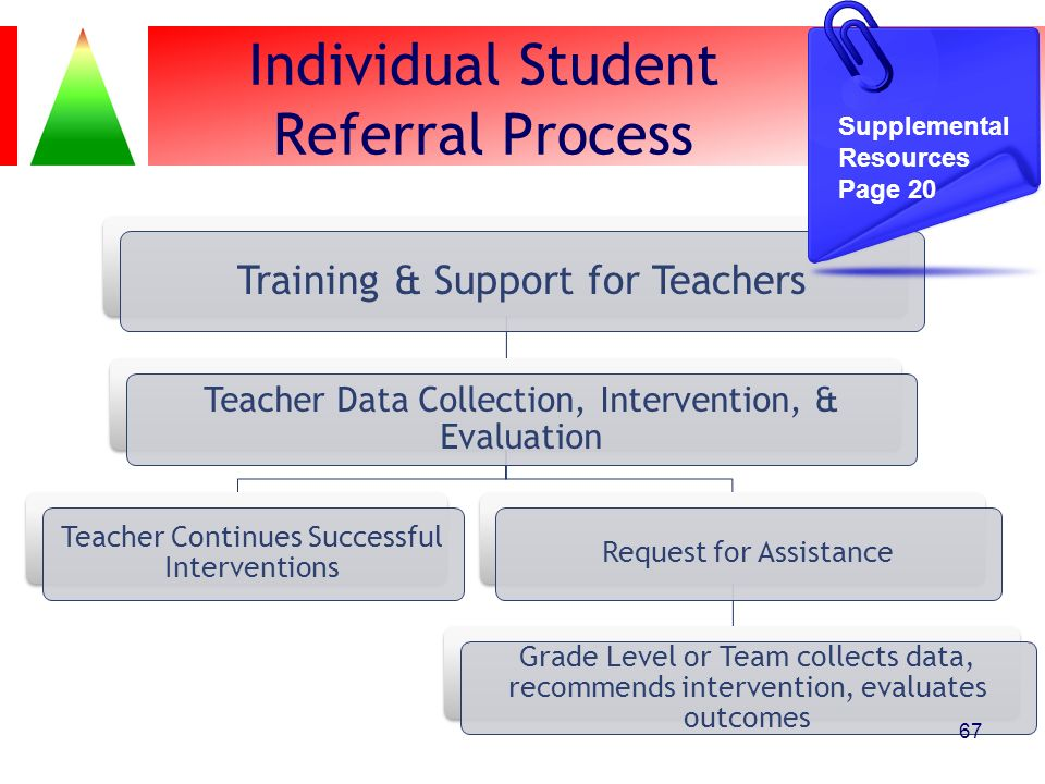 Individual Student Referral Process