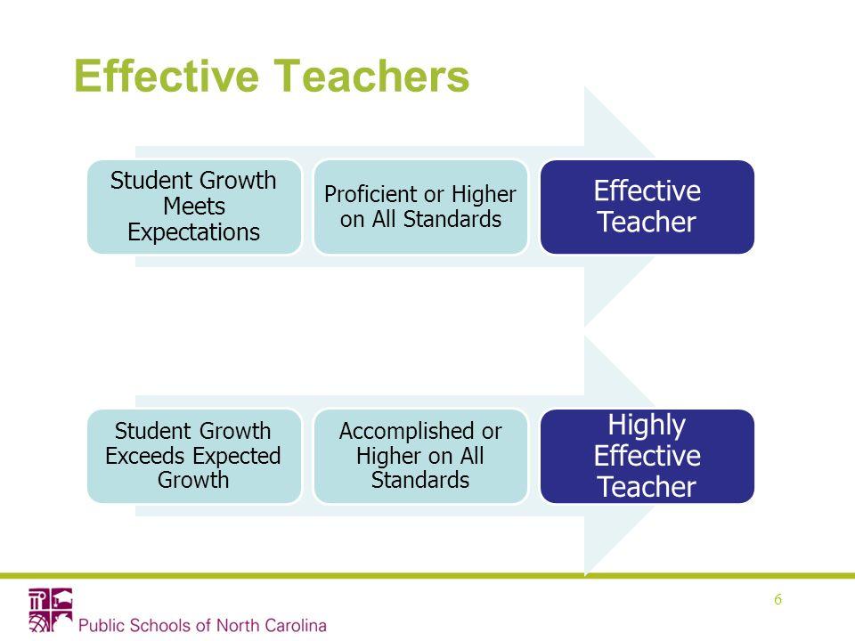 Effective Teachers Effective Teacher Highly Effective Teacher