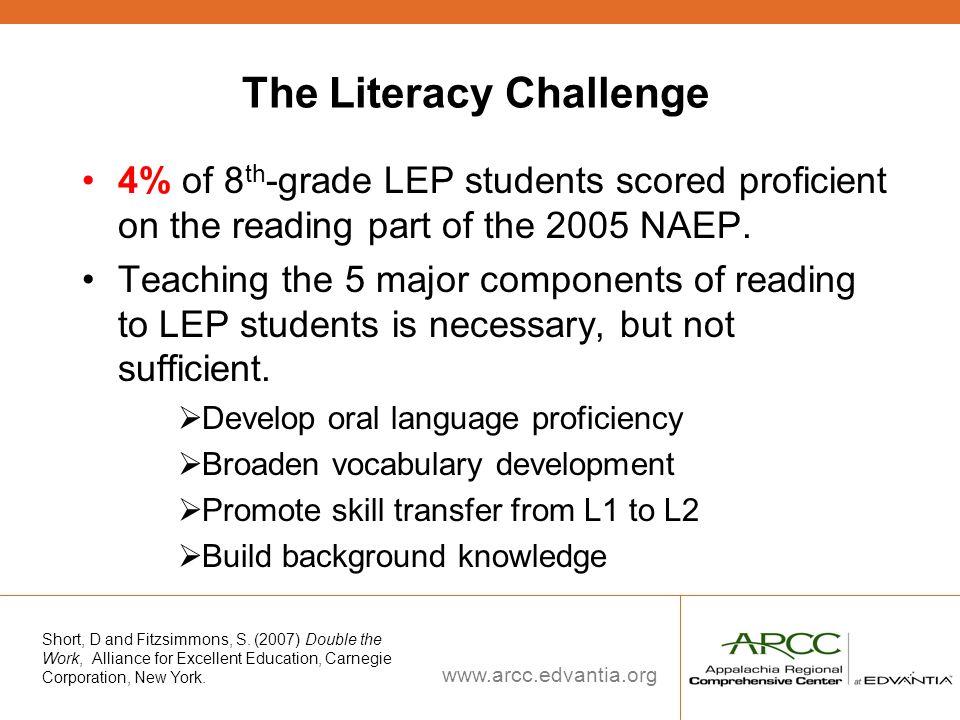The Literacy Challenge