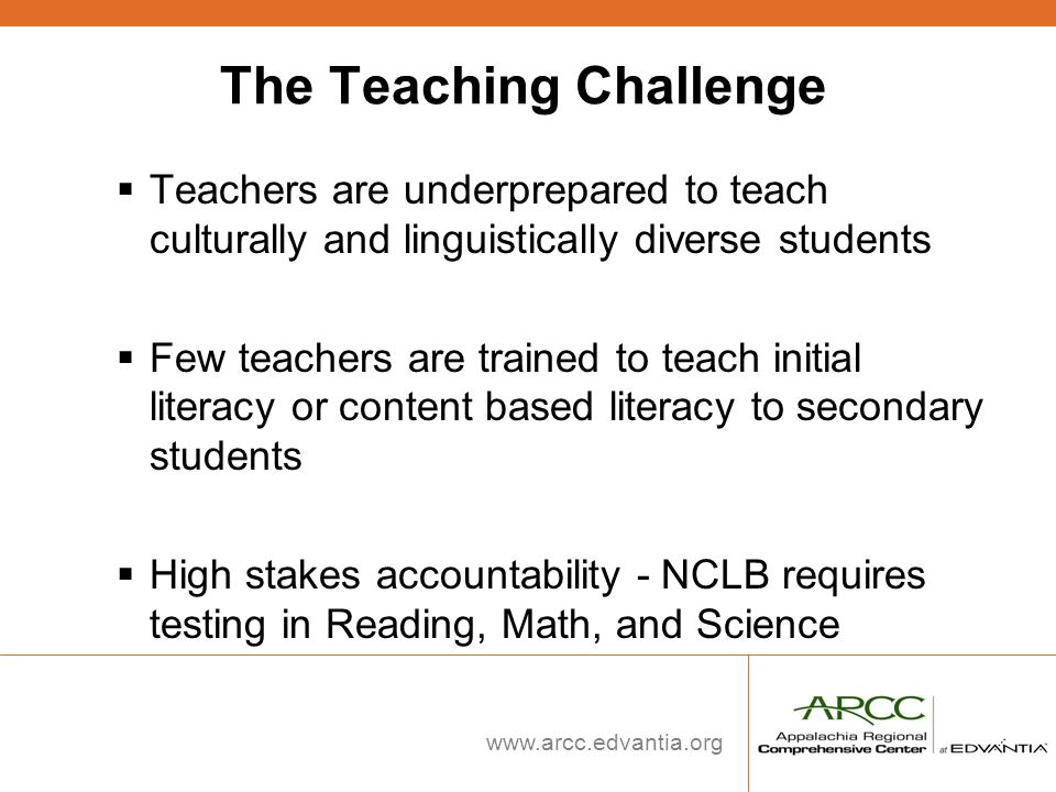 The Teaching Challenge
