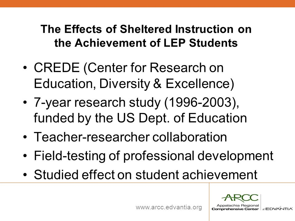 CREDE (Center for Research on Education, Diversity & Excellence)