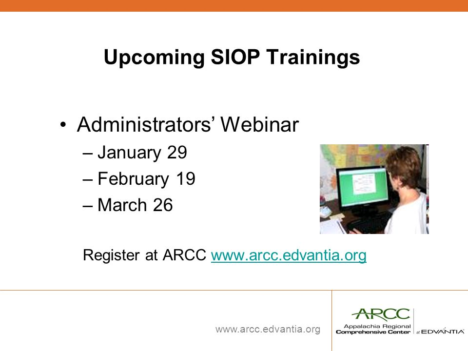 Upcoming SIOP Trainings
