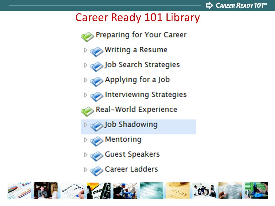 Career Ready 101 Library