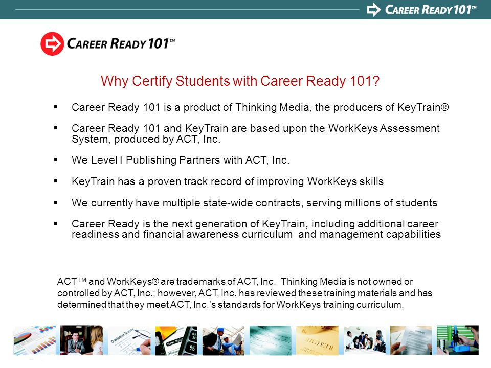 Why Certify Students with Career Ready 101