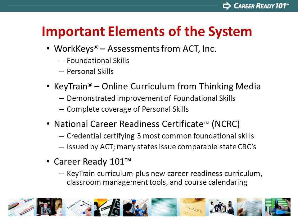 Important Elements of the System