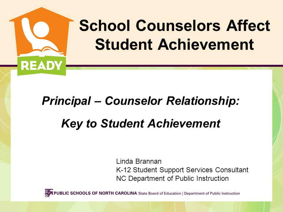 School Counselors Affect Student Achievement